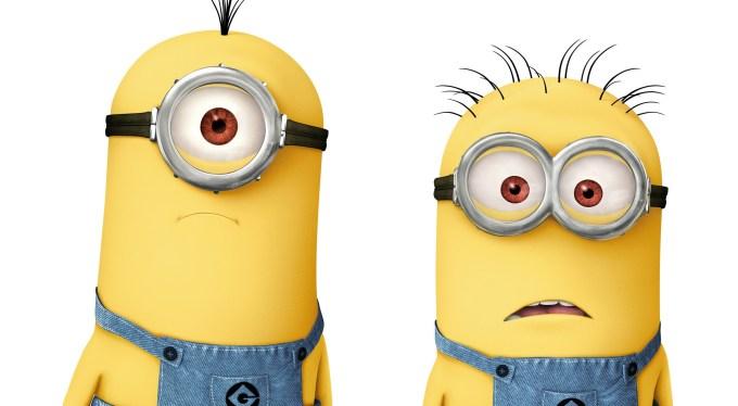 ミニオンズの目の特徴と各違いの名前