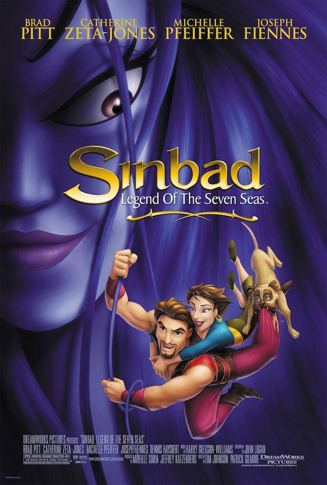 ドリームワークス・アニメーション映画『シンドバッド 7つの海の伝説』の登場人物の画像