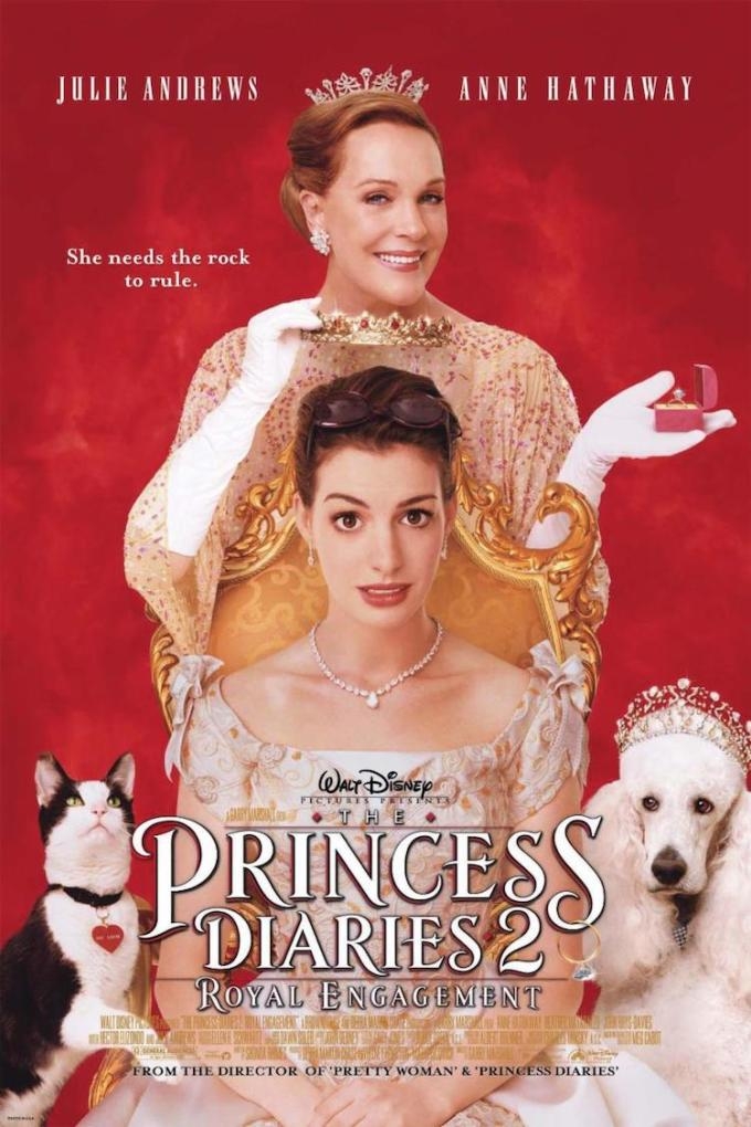 映画シリーズ2作目『プリティ・プリンセス2/ロイヤル・ウェディング』の登場人物の画像