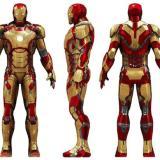 アイアンマンのパワードアーマースーツ「マーク42」の画像