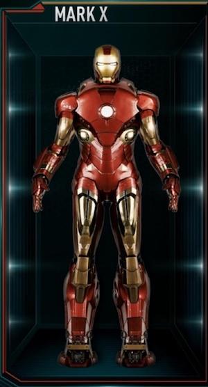 アイアンマンのアーマースーツ「マーク10」の画像