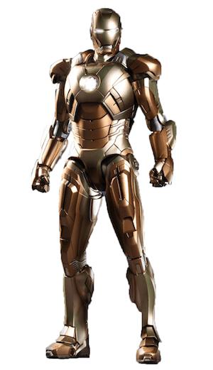 アイアンマンのアーマースーツ「マーク21」の画像