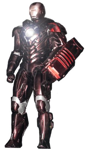 アイアンマンのアーマースーツ「マーク29」の画像