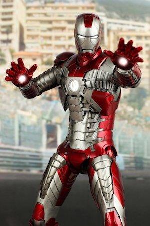 アイアンマンのアーマースーツ「マーク5」の画像
