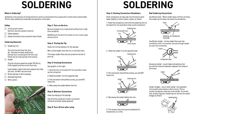 An updated manual page on soldering