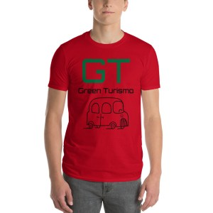 GT Green Turismo Red Tee