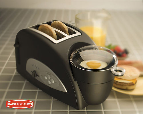 The Egg & Muffin Toaster by Back to Basics