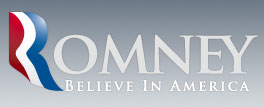 The new Romney for president logo