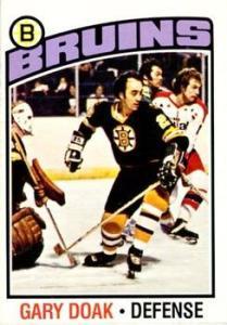 1976-77 O-Pee-Chee Card #7 Gary Doak