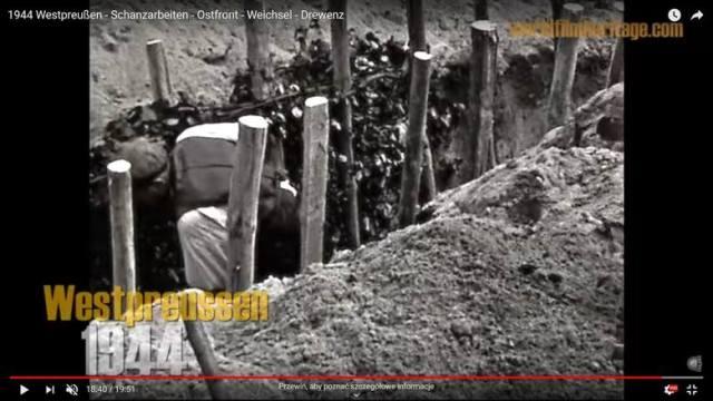 Zobaczcie niezwykły film z 1944 roku, a na nim Chełmno, Lubicz, Golub i Toruń