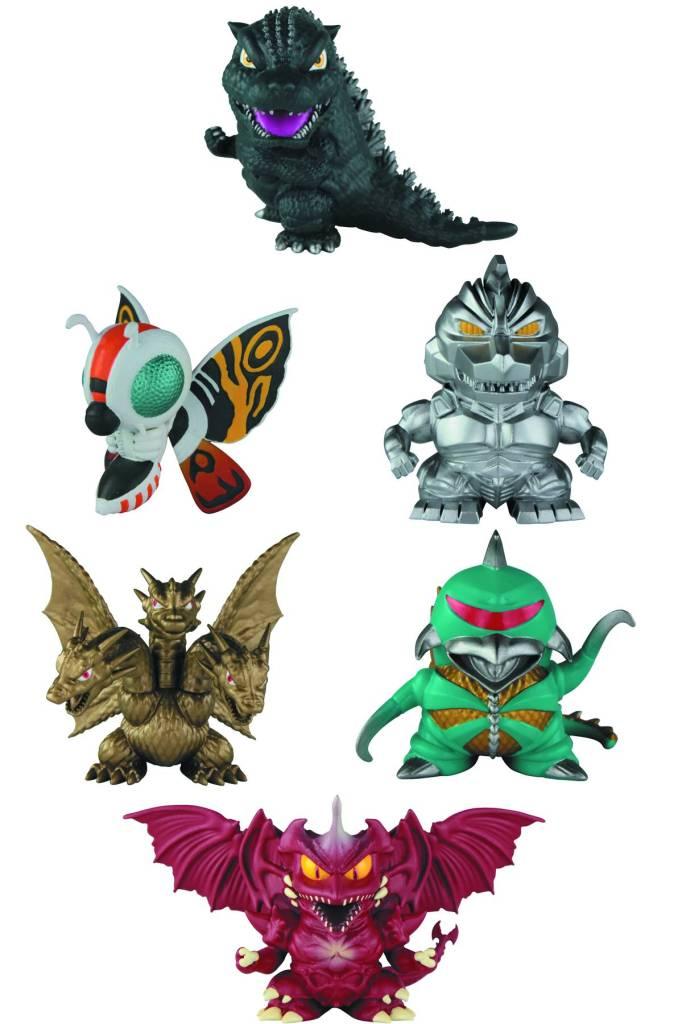 Godzilla_Chibi_Superdeformed_figures_Bandai