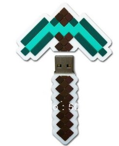 minecraft-usb-drive-pickaxe