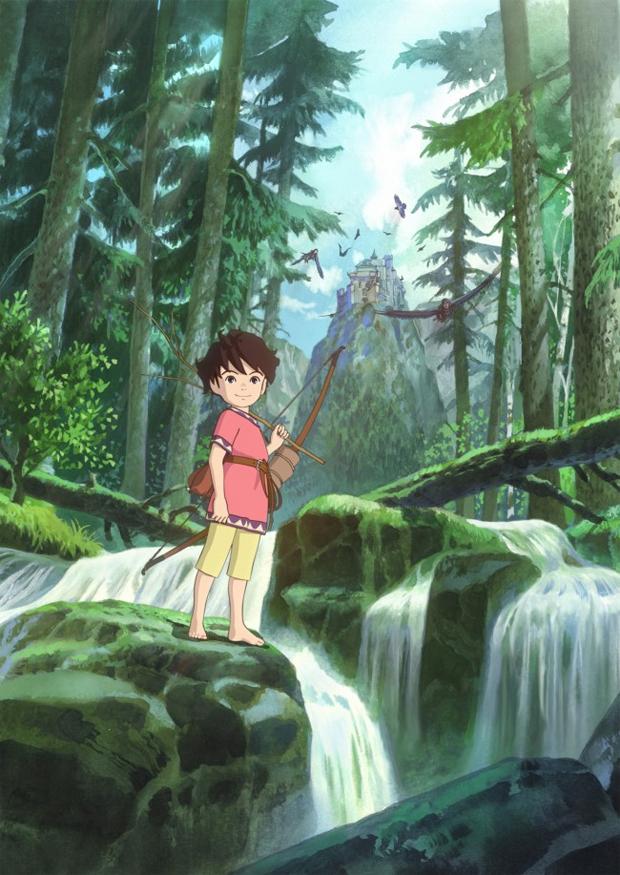 Studio Ghibli Sanzoku no Musume Ronja TV series