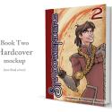 Shadowbinders Book Two hardcover graphic novel printed by PrintNinja