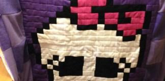 Monster-High-Blanket-Quilt-Handmade
