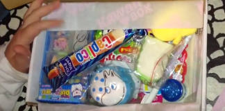 Kawaii Box October 2015 / September 2015
