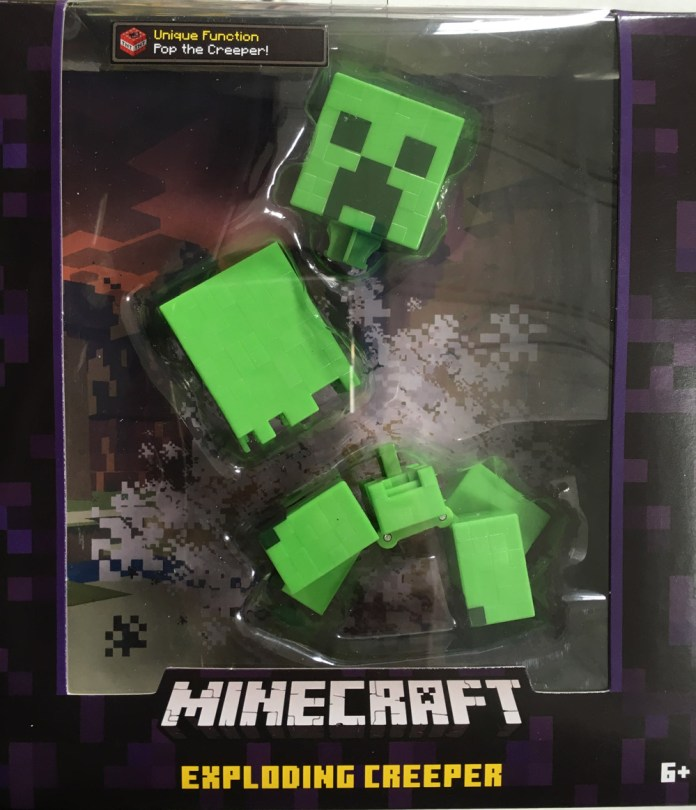 Exploding-Creeper-Front-of-Box-Minecraft-Survival-Mode