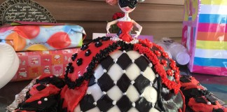 Harley Quinn Birthday Doll Cake 5