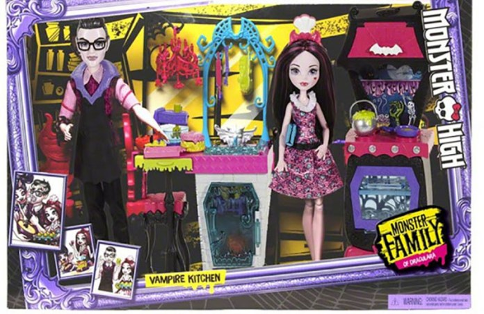 Monster High Family Garden Ghouls