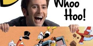 David Tennant in Ducktales | Scrooge McDuck | Disney World | Disney XD