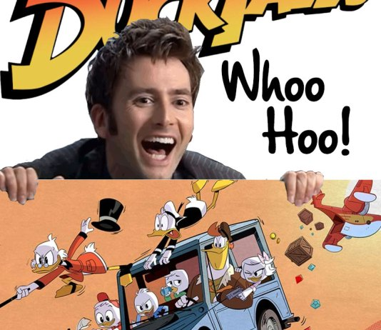 David Tennant in Ducktales | Scrooge McDuck | Disney World | Disney XD