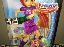 DC Super Hero Girls Starfire Doll from Teen Titans Go!