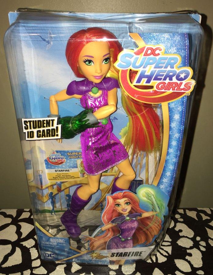 DC Super Hero Girls Starfire Doll from Teen Titans Go!