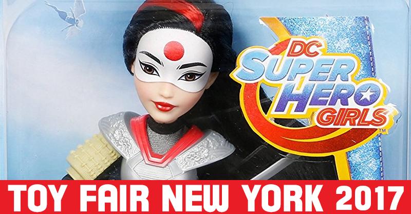 DC Super Hero Girls at Toy Fair NYC 2017 | Katana