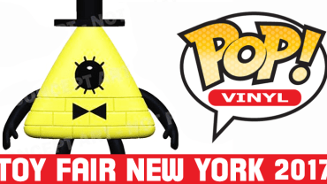 Pop Vinyl New York Toy Fair 2017 | Bill Cipher from Gravity Falls