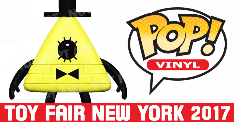 Pop Vinyl New York Toy Fair 2017   Bill Cipher from Gravity Falls
