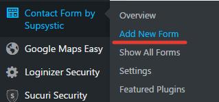 Как добавить форму обратной связи
