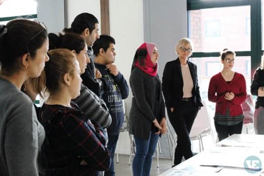 D-sign Tegnestuen og Design Tegnestuen arbejder med flygtninge i en brugerdrevet designproces