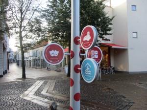 wayfinding i Kolding er nytænkende skilte - og mastedesign udført af D-sign Tegnestuen og designtegnestuen