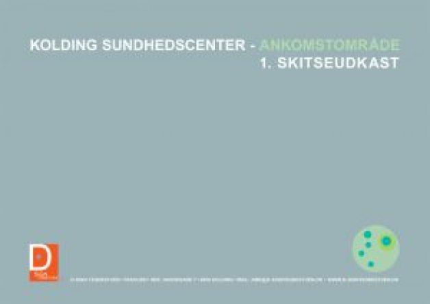 D-sign Tegnestuen/designtegnestuen står for nyindretning af ankomstområdet i Kolding Kommunes nye Sundhedscenter