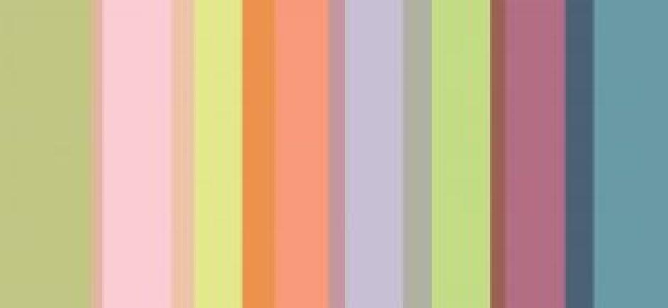 fine farvesammenstillinger af D-sign Tegnestuen