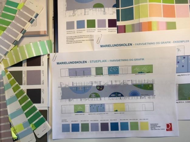 #farvesætning #indretning #skoler #design #arkitektur #arkitekt #designer D-sign Tegnestuen #designtegnestue #designtegnestuen