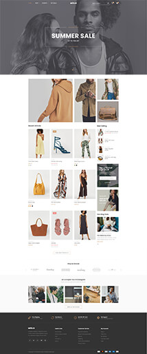 18 - fashion store (with sidebar)