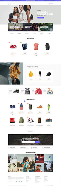 21 - sport store