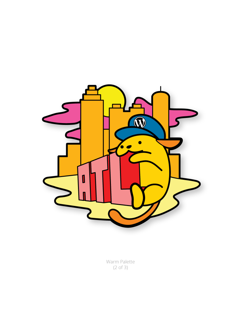 Kaiju Wapuu with Warm Color Palette