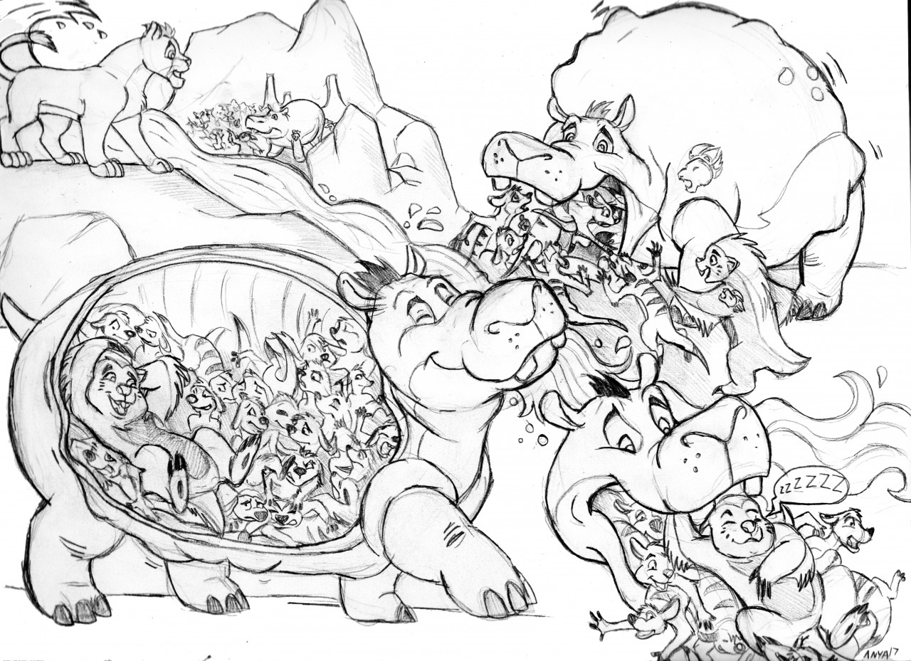 The Return Of The Hungry Hippo Hero Illustrated By