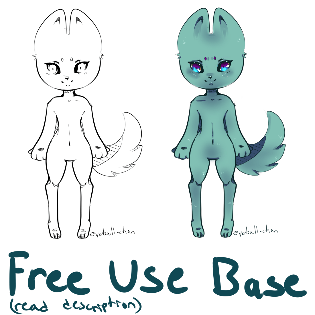 Free To Use Lineart And Base Read Description