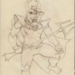 Sketch Dump Red Lantern Asgore By Morbiusmonster Fur Affinity Dot Net