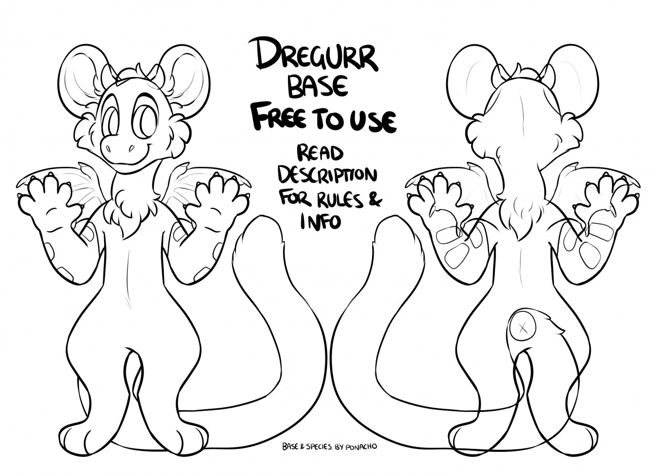 Free To Use Dregurr Bases Open Species