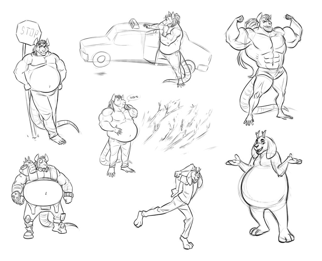 Massive Nordic Rat Sketches By Pac By Sapphireamoerlevad