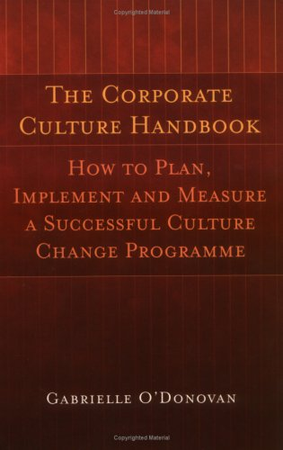 The Corporate Culture Handbook (Gabrielle O'Donovan)