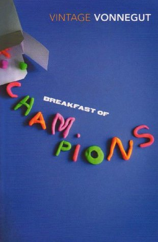 Image result for breakfast of champions kurt vonnegut book cover