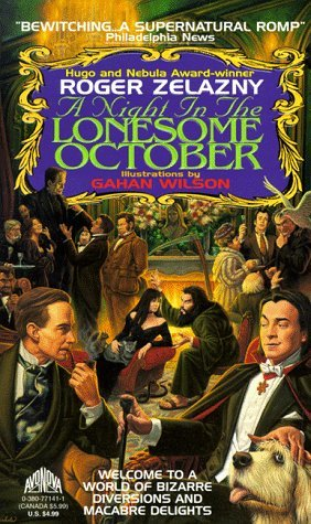A night in the lonesome october cover