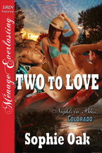 Two to Love (Nights in Bliss, Colorado, #2)