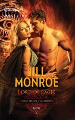 Book cover Lord Of Rage Jill Monroe