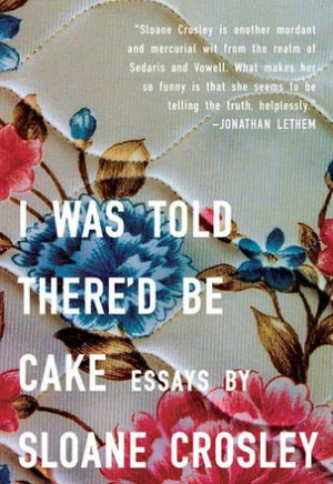 #Printcess review of I Was Told There'd Be Cake by Sloane Crosley